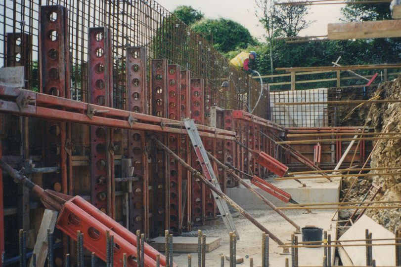 formwork in cornwall