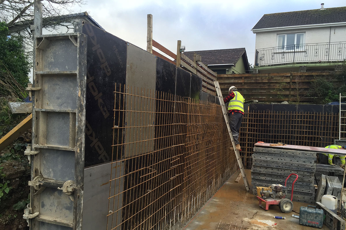 Shuttering and Formwork in Cornwall