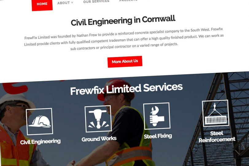 Steel Fixing in Cornwall